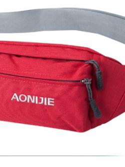 กระเป๋าคาดเอว ยี่ห้อ Aonijie สีแดง