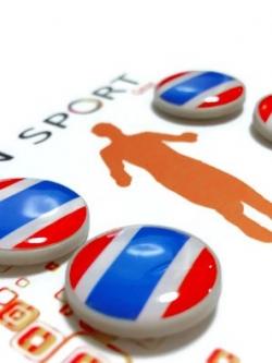 LN Sport ตัวติดเบอร์วิ่ง Runnap (BIB Race Number Holder) ลายธงชาติไทย