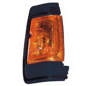 03-318 R/L Black Side Direction Indicator Lamp, Black Housing