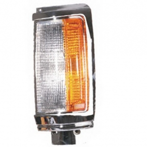 03-341 R/L Chrome Side Direction Indicator, Front Position Lamp,Chrome Housing