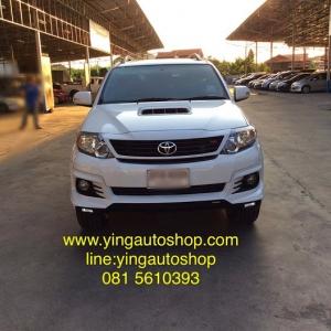 Fortuner 12-15 TRD 5 งานแท้ Toyota