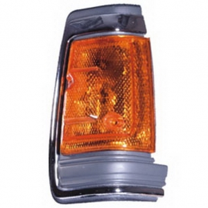 03-318 R/L Chrome Side Direction Indicator Lamp, Chrome Housing