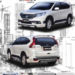 ชุดแต่งรอบคัน Honda New CRV 2013-14 zercon ZX
