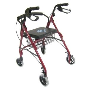 รถเข็นหัดเดิน Rollator รุ่น 44L-S ช่วยเดิน พยุงเดิน เหมาะกับผู้สูงอายุ ผู้ป่วย