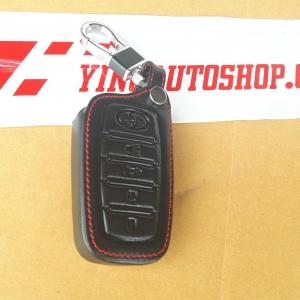 ซองกุญแจ New Fortuner ดำด้ายแดง