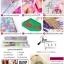 ครอสติสคริสตัลรูปกวางเรนเดียร์สามตัว คริสตัลเม็ดเหลี่ยมติดเต็มแผ่น thumbnail 3