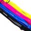 กระเป๋าคาดเอว 2 ซิป เกรด Premium ผ้าสัมผัสเนียนนุ่ม และกันน้ำ (สีดำ) thumbnail 8