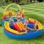 Intex Kids Rainbow Ring Water Play Center สวนน้ำสไลเดอร์ สายรุ้ง + ที่สูบไฟฟ้า thumbnail 2