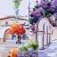 งานปักริบบิ้นรูปซุ้มดอกไม้ห้อยระย้า By Easy DIY ครอสติสคริสตัล thumbnail 2