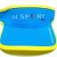 Visor Cap หมวกเปิดหัว สีฟ้าขลิบเหลือง thumbnail 2