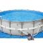 Intex Ultra Frame Pool 18 ฟุต เครื่องกรองระบบทราย (5.49 x 1.32 ม.) 28332 thumbnail 3