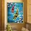ภาพวาดปลาคราฟคู่ดอกซากุระ thumbnail 1