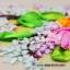 งานปักริบบิ้นรูปดอกทิวลิปและไฮเดรนเยีย by Easy DIY ครอสติสคริสตัล thumbnail 2