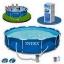 Intex Metal Frame pool 12 ฟุต 28212 + เครื่องกรองระบบไส้กรอง thumbnail 2