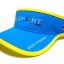 Visor Cap หมวกเปิดหัว สีฟ้าขลิบเหลือง thumbnail 1