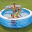 Intex Swim Center Family Lounge สระน้ำครอบครัวกลมมีที่พิง 57190+สูบไฟฟ้า thumbnail 2