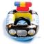 Intex Kiddie Car Float ห่วงยางสอดขาลายรถตำรวจ 59586 thumbnail 2