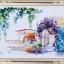 งานปักริบบิ้นรูปซุ้มดอกไม้ห้อยระย้า By Easy DIY ครอสติสคริสตัล thumbnail 1