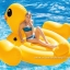 Intex Mega Yellow Duck แพยาง ลายเป็ดสีเหลืองตัวใหญ่ 56286 thumbnail 4