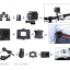 กล้องกันน้ำ i-Smart- Sport DV Camera กล้องเทียบ SJCAM4000 กล้องติดหมวกกันน๊อก กล้องดำน้ำ กล้องถ่ายใต้น้ำ กล้องติดหน้ามอเตอร์ไซต์ กล้องจักรยาน รุ่นมีไวไฟในตัว (สีพิเศษ) thumbnail 14