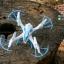 LH-X15 Top selling quadcopter 3D flip [โดรนไซต์เล็กมีไฟหน้าพร้อมไฟ Led รอบตัว, บินกลับมาจุดเดิมได้, ตีลังกา 360 องศา รุ่นใหม่ล่าสุด 2016] thumbnail 11