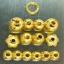 สร้อยกะลาสลับทองคำแท้+หัวขุนไม้พญางิ้วดำ+เม็ดทองคำหลายขนาด thumbnail 3