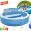 Intex Swim Center Family Lounge สระน้ำครอบครัวกลมมีที่พิง 57190+สูบไฟฟ้า thumbnail 4