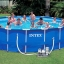 Intex Metal Frame pool 18 ฟุต 28252 + เครื่องกรองระบบไส้กรอง thumbnail 2