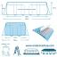Intex Prism Frame Pool สระน้ำรุ่นใหม่!! ขนาด 16 ฟุต สีฟ้า + เครื่องกรองระบบไส้กรอง รุ่น 28318 thumbnail 6