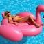 Intex Mega Pink Flamingo แพยางเป่าลมนกฟลามิงโก้ตัวใหญ่ สีชมพู 56288 thumbnail 4