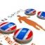LN Sport ตัวติดเบอร์วิ่ง Runnap (BIB Race Number Holder) ลายธงชาติไทย thumbnail 1