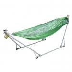 เครื่องไกวเปล Autoru รุ่น Giant + เปลญวนเด็ก Premium hammock (สีเขียว)