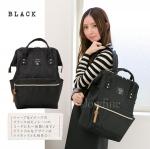 กระเป๋าเป้ anello lotte พร้อมส่ง สี black (ดำ)