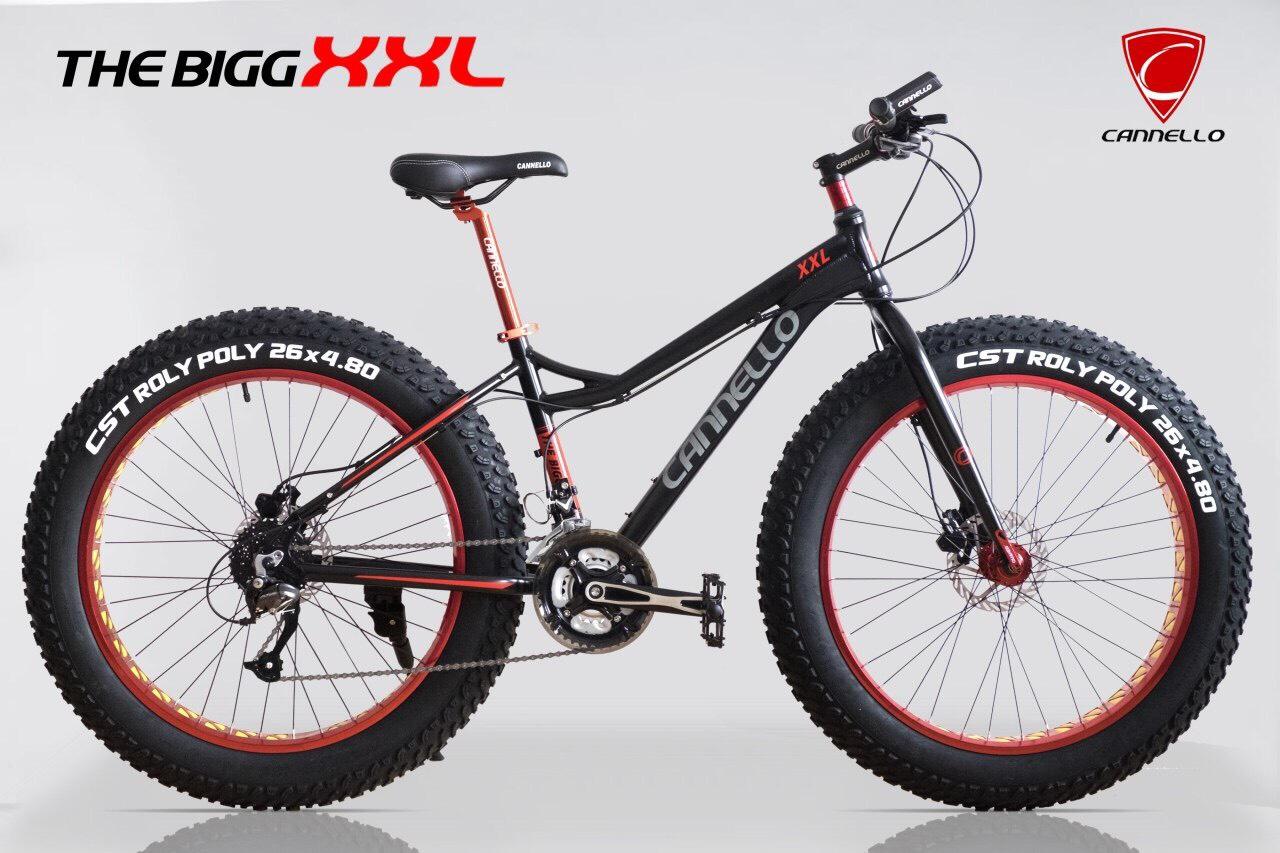 จักรยานล้อโต Cannello The ฺBigg XXL สีดำ