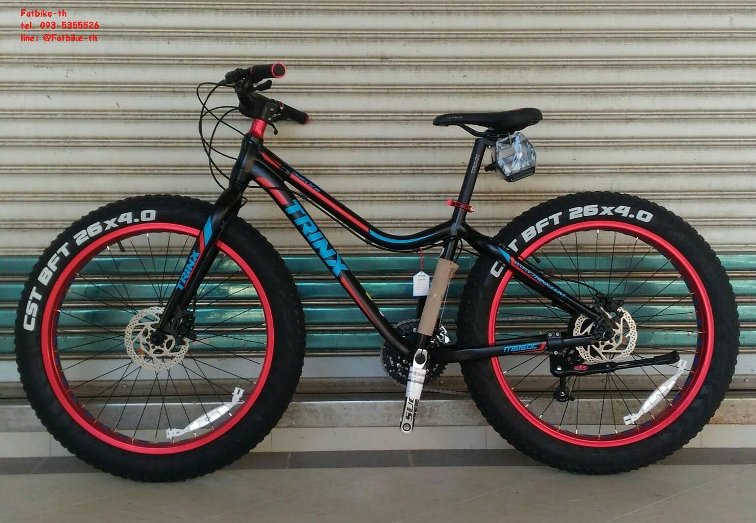 """จักรยานล้อโต Fatbike TRINX M516DC 26"""" 27 สปีด ดิสน้ำมัน"""