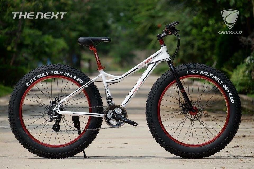 จักรยานล้อโต Cannello รุ่น The Next สีขาว