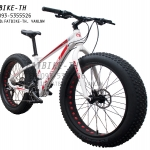 จักรยานล้อโต Kfavor Snow Pro 27 speed ขาว/แดง
