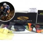 แว่นตาปั่นจักรยาน Rudy Project Tralyx <ดำใส> ชุด 4 เลนส์