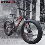 จักรยานล้อโต Kfavor Snow Pro 27 speed ดำ/แดง