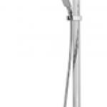 SHOWER MIXER SET ก๊อกผสมยืนอาบน้ำพร้อมฝักบัวสายอ่อน COTTO CT2134W