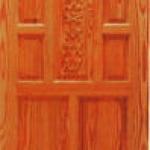 ประตูไม้สน อเมริกา CITY TS912 ขนาด 80x200