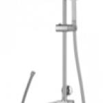 ชุดฝักบัวสายอ่อน 1 ฟังก์ชั่น และฝักบัว ก้านแข็งและสายนํ้าดียาว 1 ม. COTTO CT623S