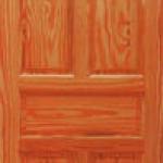 ประตูไม้สน อเมริกา CITY TS923 ขนาด 80x200