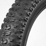 ยางจักรยานล้อโต ขนาด 4.7 VeeTire FAT TIRE รุ่น Bulldozer ขอบพับ