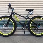จักรยานล้อโต CANNELLO รุ่น THE ROCK สีดำนีออน