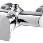 ก๊อกผสมยืนอาบน้ำแบบก้านโยก (เกลียวบน) COTTO CT2035A