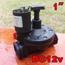 "Solenoid valve DC12v ระบบน้ำ 1""นิ้ว"