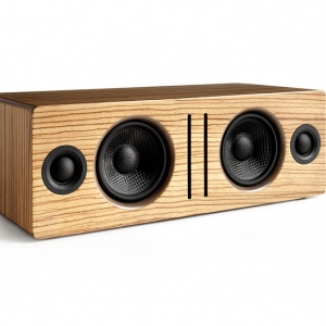 ลำโพง Audioengine B2 Bluetooth Speaker (Zebra Wood)