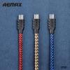 สายชาร์จ Nylon Micro USB Remax