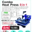 Combo Heat Press 8 IN 1 thumbnail 1